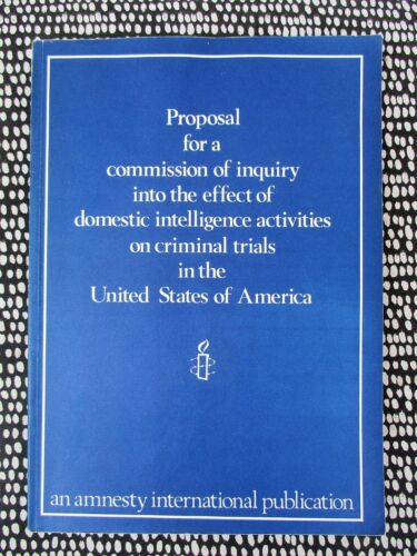 EFFECT of DOMESTIC INTELLIGENCE ACTIVITIES on CRIMINAL TRIALS in the US 1981