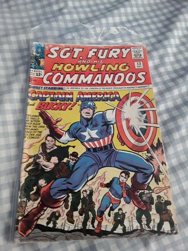 Sgt. Fury #13 GD 2.0 Captain America & Bucky Appearance