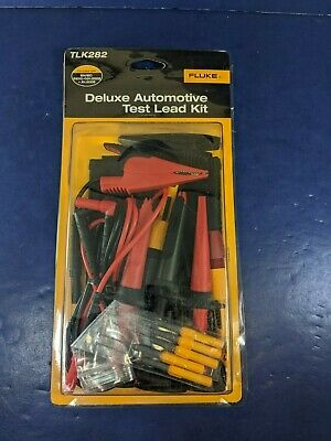 New Fluke Tlk282 Deluxe Automotive Test Lead Kit Original Packaging