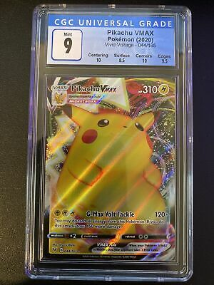 Pikachu VMAX - CGC 9 Mint - Vivid Voltage 044/185