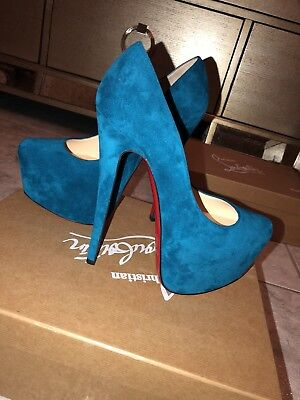 christian louboutin daffodile Suede Pumps Size 35 Never Worn