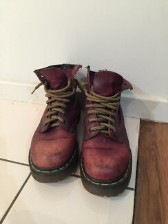 Original cherry red Dr Martens Merewether Newcastle Area Preview