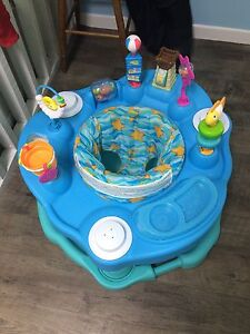 Sea themed exersaucer