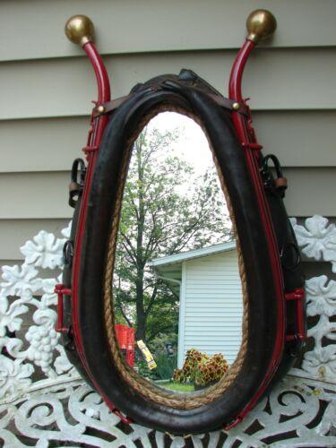 Horse Collar Mirror  Really Nice