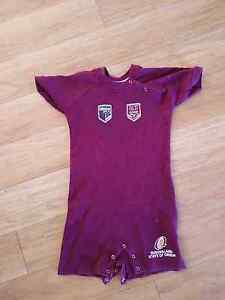 QLD State Of Origin onesie size 2 Northgate Brisbane North East Preview