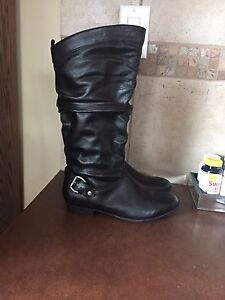 Never worn leather boots (size7.5)