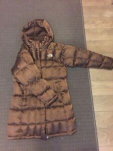 Girls Size Medium Long Northface Jacket