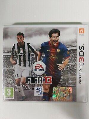 3DS NINTENDO GIOCO FIFA 13 3 DS ITALIANO USATO GARANTITO