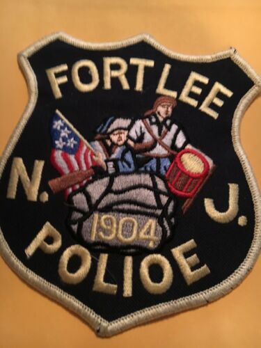 Fort Lee New Jersey Police Patch