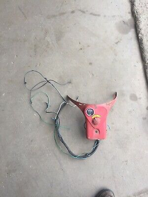 Ih Farmall Cub Instrument Dash Panel With Wiring Harness Amp Gauge Light Switch