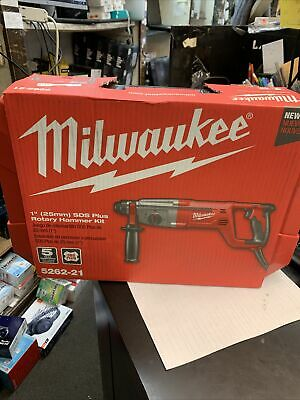 New Milwaukee Corded Sds D-handle Rotary Hammer - 1 In 8.0 Amp 5262-21