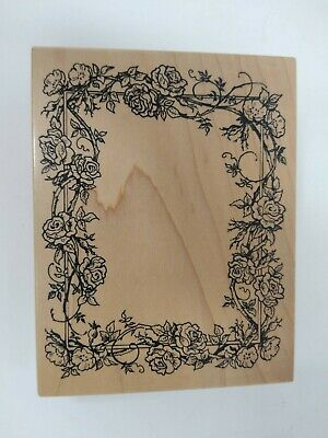 Floral Vines Butterfly Grunge Flowers SQUARE CANVAS WALL ART Boxed Framed