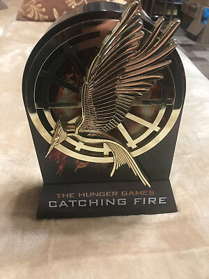 HUNGER GAMES Catching Fire & Mockingjay 2 Steelbook 4 Blu-ray Custom collection ()