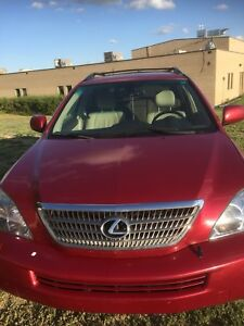 Lexus RX 400H 2008 Nav accident free FIRM