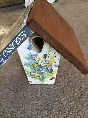 Droll Yankees Nest Box Bird House Bluebird Wren Size New Free -