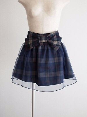 Free Shipping🎀LIZ LISA🎀Organza Layered Bow Skirt Shorts Romantic Lolita C765