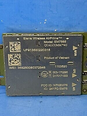 SIERRA WIRELESS AirPrime EM7565 M2M Module QUALCOMM 4G LTE-Advanced Pro Module
