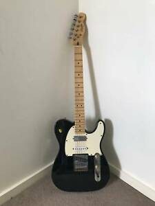 Fender Telecaster Squire with Hardcase, Pedals and Accessories