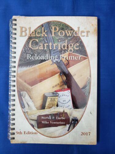 The Black Powder Cartridge Reloading Primer- Garbe Venturino 9th Edition - New