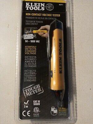 Klein Non Contact Voltage Tester Light Pen Electrical Detector Meter Sensor Led