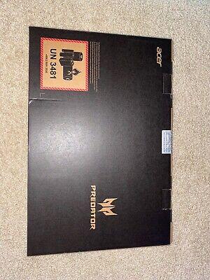 NEW Acer Predator Helios 300 PH315-52-588F Gaming Laptop 512GB SSD i5 GTX 1660Ti