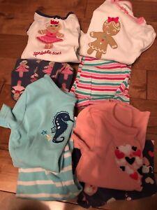 Girls jammies/clothes sz 6 & 7
