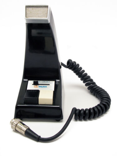 MURA PRX-300 Desk Mic CB/HAM Radio Vintage