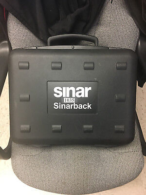 Digital Back Adapter (Sinarback 54H Digital Back with Sinar Plate Adapter 551.65.233 w/Case and more)