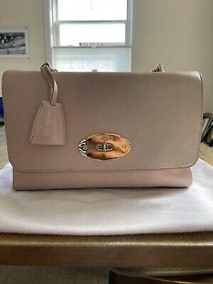 Mulberry handbag, Top handle lily, Beige pink.