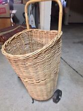 Basket on wheels - Shack Furniture Northbridge Willoughby Area Preview