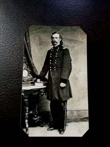 Scarce civil war General George Armstrong Custer  tintype C529NP