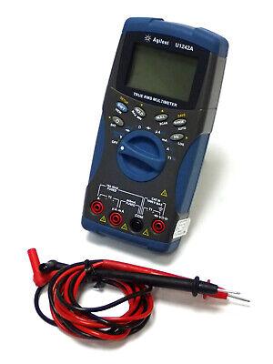 Agilent U1242a True-rms Digital Multimeter W Harmonic Ratio Dual Temp Tested