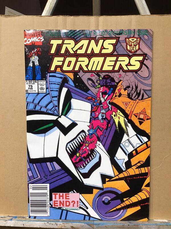 Transformers # 75 (February 1991)
