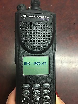 Motorola Xts3000 H09uch9pw7an Astro Iii Flashport 800mhz Radio Broken Button