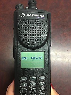 Motorola Xts3000 H09uch9pw7an Astro Iii Flashport 800mhz Radio Broken Button