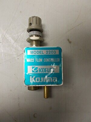 KOFLOC Mass Flow Controller Model 2203