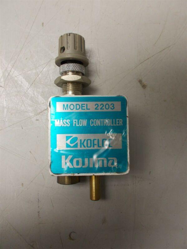 KOFLOC Mass Flow Controller Model 2203