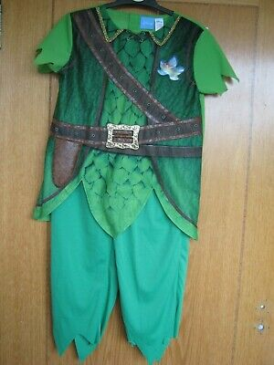 DISNEY PETER PAN FANCYDRESS/DRESSING UP CHILD'S SIZE 7-8 YEARS BOYS NEW BNWT