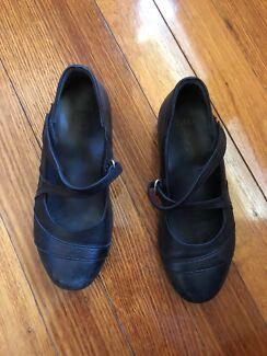 Black work/casual Ziera Shoes Shepparton Shepparton City Preview
