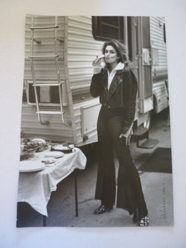 Cindy Crawford Quentin Tarantino Double Side Coffee Table Book Photo Page 9x13