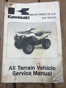 KAWASAKI BRUTE FORCE 750 KVF750 OEM SERVICE MANUAL