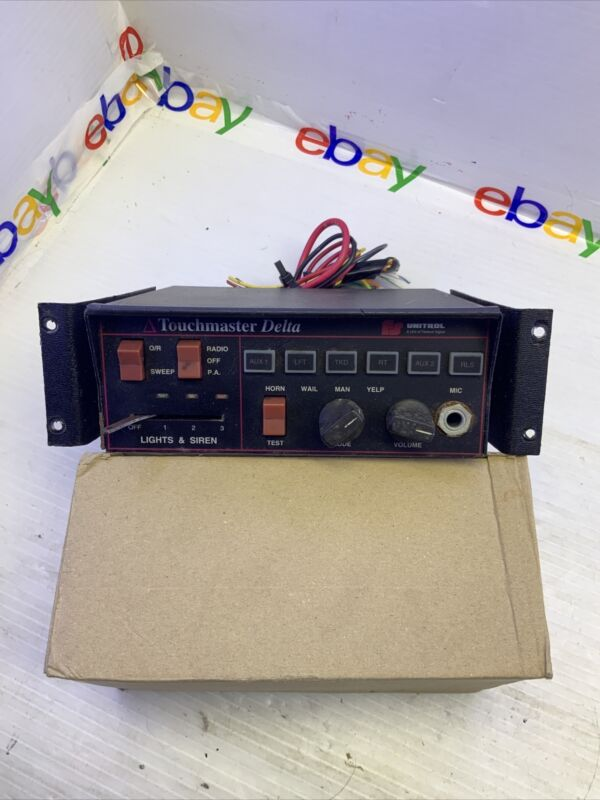 Federal Signal Touchmaster Unitrol - Works