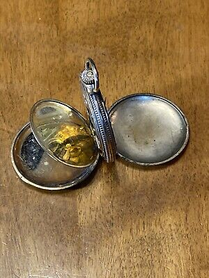 1915 Elgin Grade 286 Parts/Repair Pocket Watch 12 Size 7 J. Gold-Filled Hunting