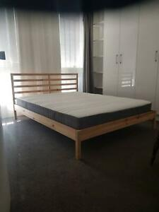 Unbelievably comfy Queen size bed AND Mattress for sale