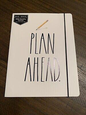 Rae Dunn 2021 Plan Ahead. Planner White Aug 2020-dec 2021 Organizer New