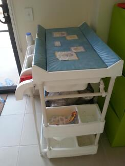 Changing table with bath tub Highton Geelong City Preview