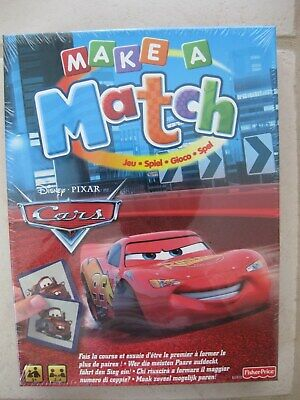 Fisher Price MAKE A MATCH Disney Pixar Cars Memory Kinderspiel ()
