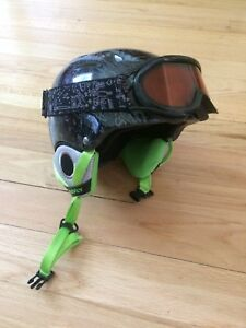 Youth Snowboard Helmet with Goggles
