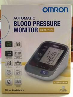 *Brand New* Omron Ultra Premium Blood Pressure Monitor HEM-7320 Footscray Maribyrnong Area Preview