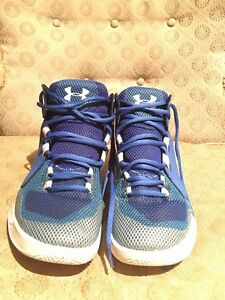 Under Armor youth size 7 basketball shoes